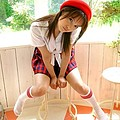 [asian pictures] Mihiro In Uniform Outdoors Strips