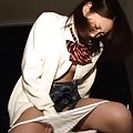 Chika Arimura is fucked in mouth and has cunt licked by masked
