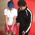 Ayu Sakurai Asian has pussy licked and gets cum on ass cheeks