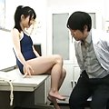 Rin Suzune feels horny and eager to try cock while with the doc