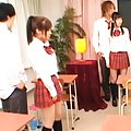 Unknown Model schoolgirls tie up the teacher so they can fuck