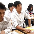 Yuika Seno Asian has nipples licked by two class colleagues