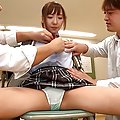 Rena Konishi Asian screams while getting vibrators on curves
