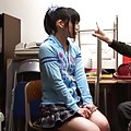 Japanese AV Model takes panty off and is touched on cunt in class