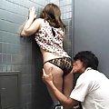 Chinatsu Kurusu Asian gets short jeans off and has hot ass kissed