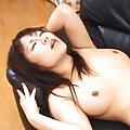 Rei Himekawa gets two fingers in her wet ass hole