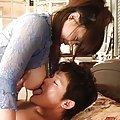 Sakura Kawamine has immense bazoom bas licked and fondled by guy