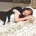 Rina Matsuoka Japanese maid enjoys cleaning her rooms and sucking big cocks