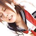 Nana Aoyama huge tits bouncing as she gets fucked by lovers