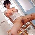 Mitsuki Akai Asian has crack exposed and nasty boobs touched