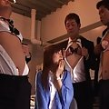Rei Aoi Naughty Asian girl with big tits gets a group fucking