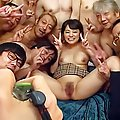 Aimi Yoshikawa has assets and bum fondled with oil over bath suit