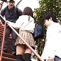 Rin Yamagishi Asian is licked all over while is undressed by men