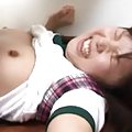 Yun Kurihara Asian in uniform is well fucked and gets cum on lips