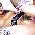 Nana Nanami Asian gets doggy and shakes boobies during blowjob