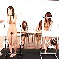 Japanese AV Model has clitoris rubbed and cans touched by dudes